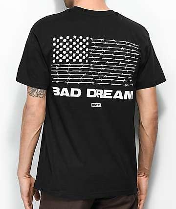 HSTRY Bad Dream Black T-Shirt