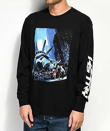 HSTRY Escape Black Long Sleeve T-Shirt