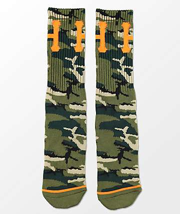 HUF Ambush Classic H Camo Crew Socks
