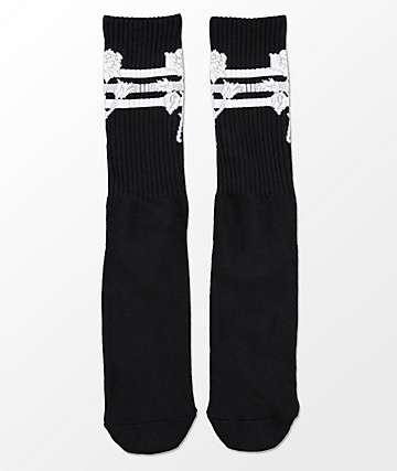 HUF Ambush Rose Black Crew Socks