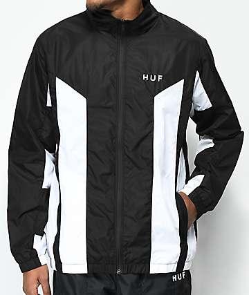 HUF Arena Black Track Jacket
