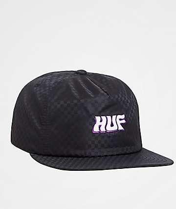 HUF Backstage Black Snapback Hat