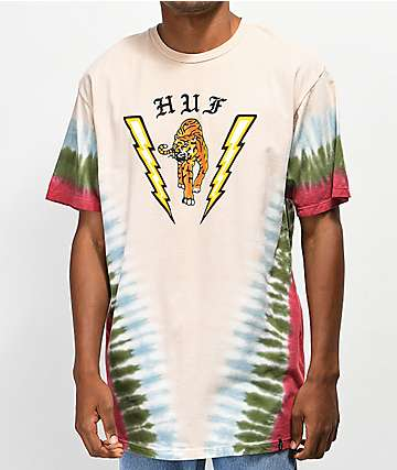 HUF Case Closed Beige T-Shirt