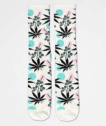 HUF Cherry Blossom Crew Socks