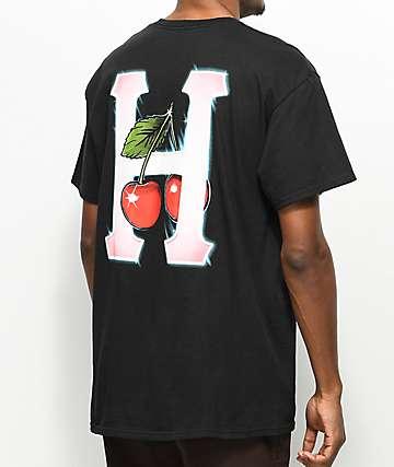 HUF Cherry Classic H Black T-Shirt