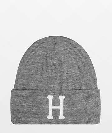HUF Classic H Grey Beanie