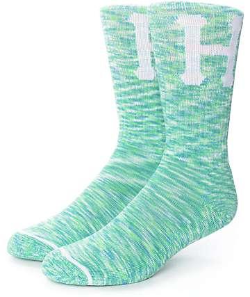 HUF Classic H Mint Crew Socks
