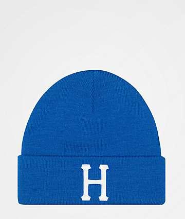 HUF Classic H Nebula Blue Beanie