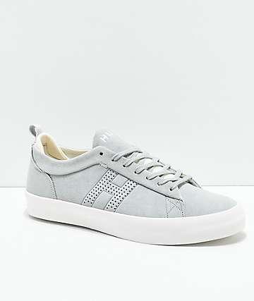 HUF Clive zapatos de skate en gris y blanco