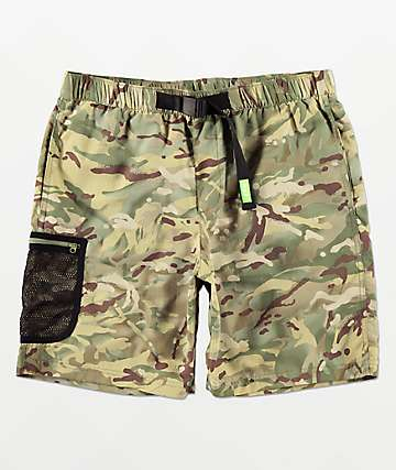 HUF Crosby Camo Board Shorts