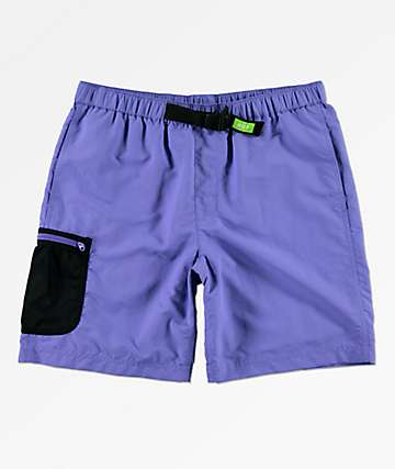 HUF Crosby Purple Board Shorts