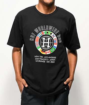82d115d7fc60 HUF DBC Worldwide Black T-Shirt