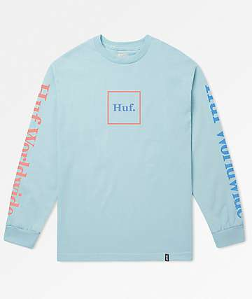 HUF Domestic Ballad Blue Long Sleeve T-Shirt
