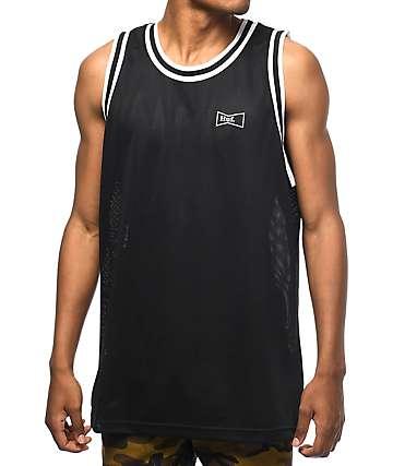 HUF Drink Up Black Basketball Jersey