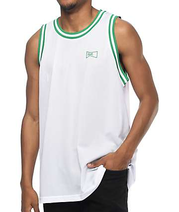 HUF Drink Up White & Green Jersey