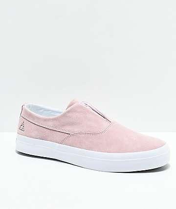HUF Dylan Slip-On zapatos de skate en rosa