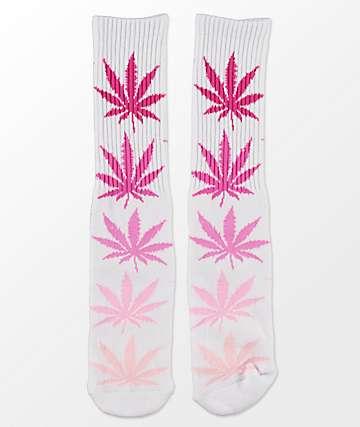 HUF Fader Plantlife calcetines rosado