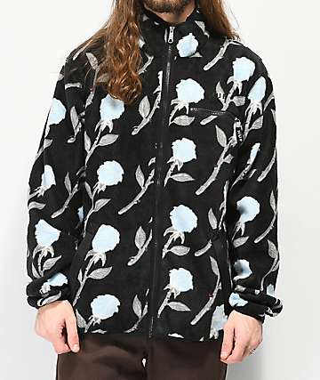 HUF Farewell Black Fleece Jacket