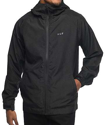 HUF Flynn Classic Black Jacket