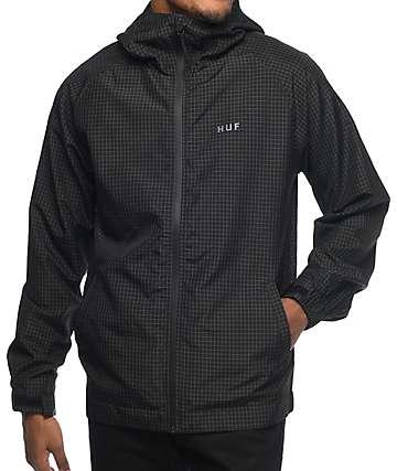 HUF Flynn chaqueta negra
