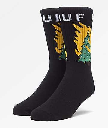 HUF Hot Fire Crew Socks