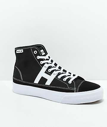 HUF Hupper 2 Hi zapatos skate en negro y blanco