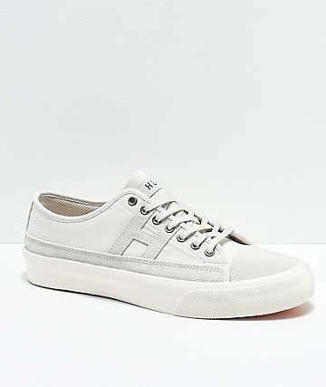 HUF Hupper 2 Lo Natural & White Skate Shoes