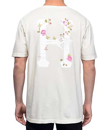 HUF La Vie En Rose Classic H camiseta en color marrón