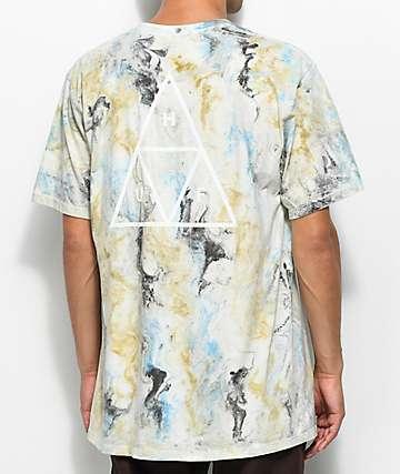 HUF Marble Dye camiseta marrón