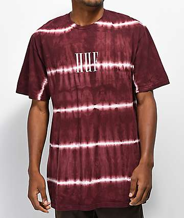 HUF Marka Port Royale Red Washed T-Shirt