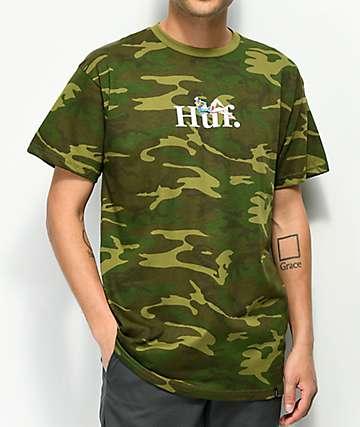 HUF Miss America Camo T-Shirt