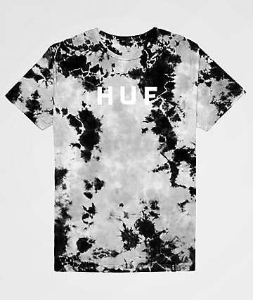 HUF OG Logo Black Crystal Wash T-Shirt
