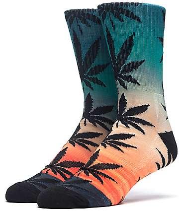 HUF Outdoors Digi Plantlife Sunrise calcetines