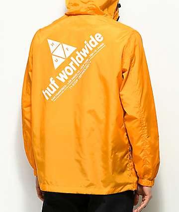 HUF Peak Cantaloupe Anorak Jacket