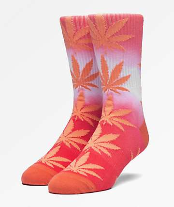 HUF Plantlife Canyon Sunset Gradient Dye Crew Socks