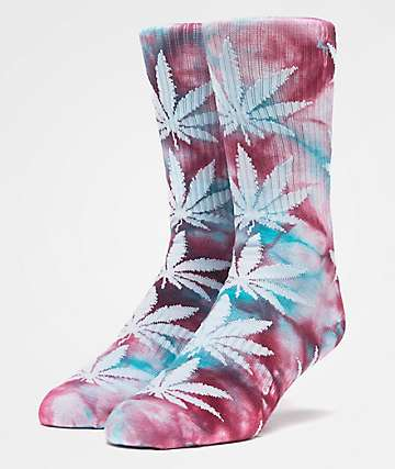 HUF Plantlife Crystal Washed Port Royale Crew Socks