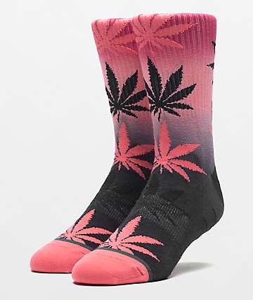 HUF Plantlife Gradient Dye Desert Flower Crew Socks