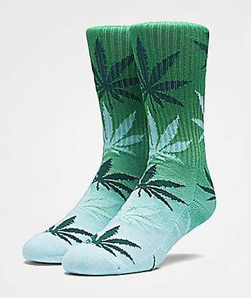 HUF Plantlife Gradient Forest & Mint Crew Socks