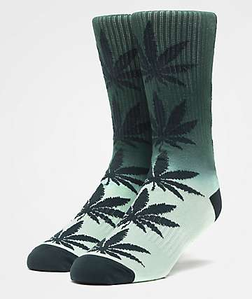 HUF Plantlife Gradient Washed Pine Crew Socks
