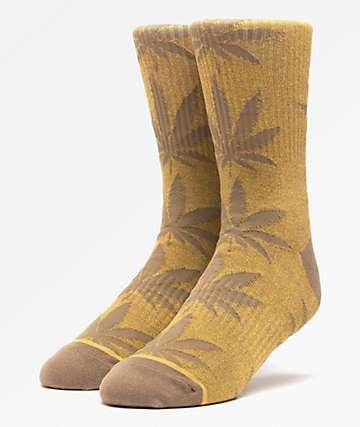 HUF Plantlife Kush Mineral Melange Crew Socks