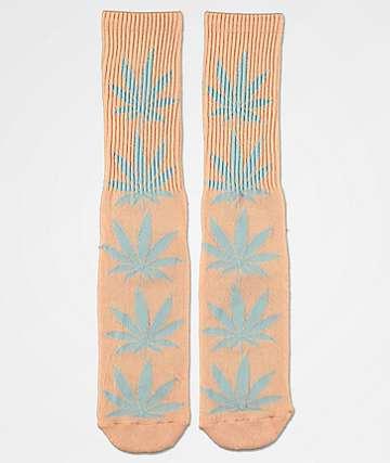HUF Plantlife Melange Coral Haze Crew Socks