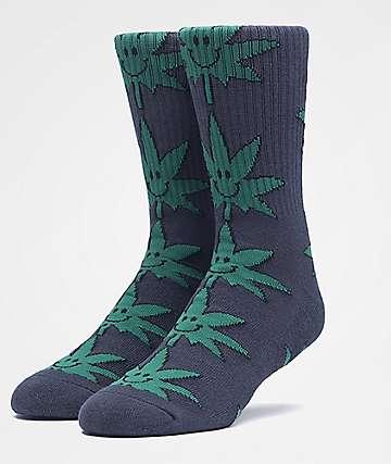 HUF Plantlife Mr. Nice Guy Black Crew Socks
