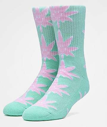 HUF Plantlife Mr. Nice Guy Green Crew Socks