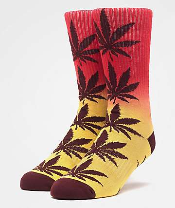 HUF Plantlife Port Royale Gradient Washed Crew Socks