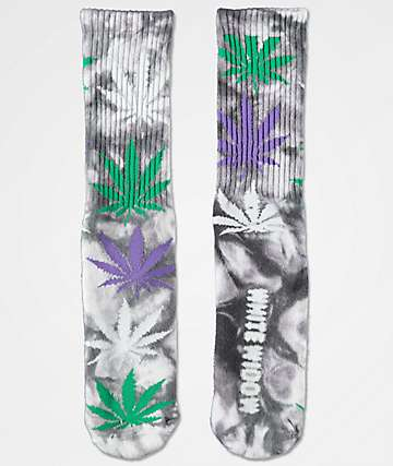 HUF Plantlife White Widow Crew Socks