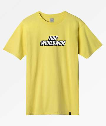 HUF Postal Yellow T-Shirt