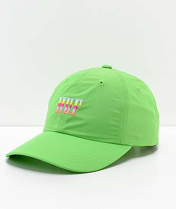 HUF Resort Lime Strapback Hat