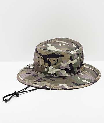 5fa555b296c HUF Rivington Boonie Camo Bucket Hat