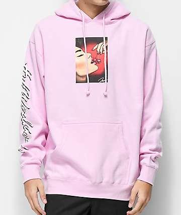 HUF Roxanne Pink Hoodie