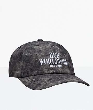 HUF Serif Stack Frost Wash Strapback Hat